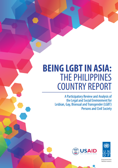 Being LGBT in Asia: The Philippine Country Report
