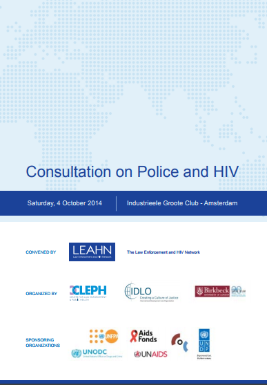 Consultation on Police and HIV Report