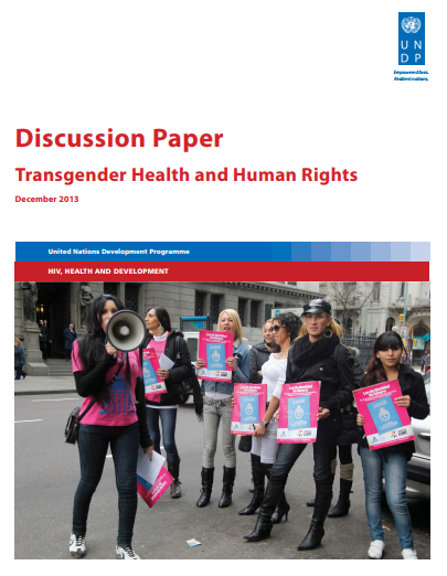 Discussion Paper on Transgender Health & Human Rights