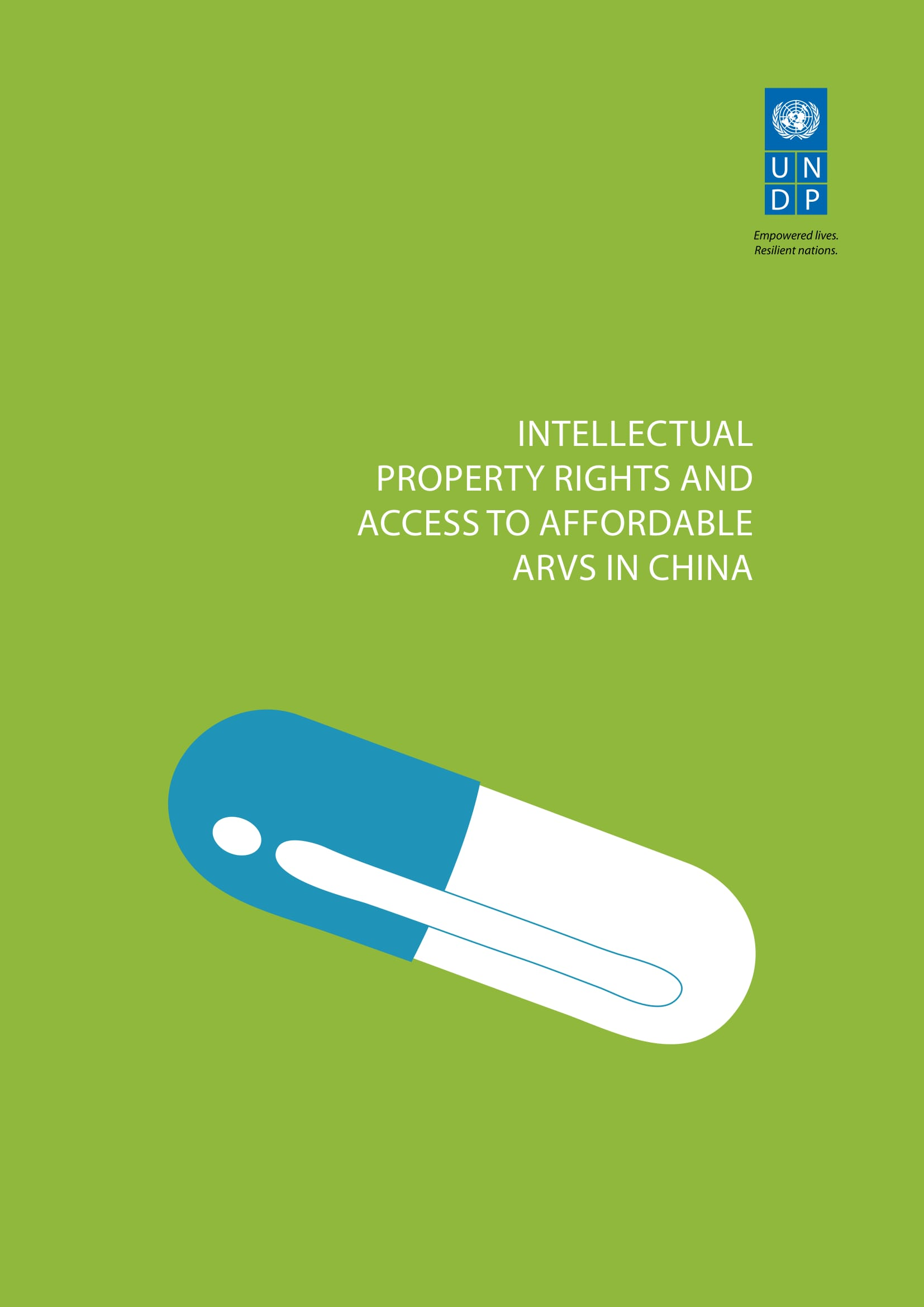 Intellectual Property Rights and Access to Affordable ARVs in China