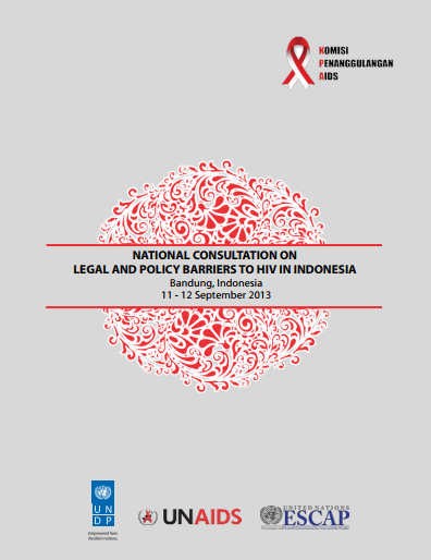 National Consultation on Legal and Policy Barriers to HIV in Indonesia
