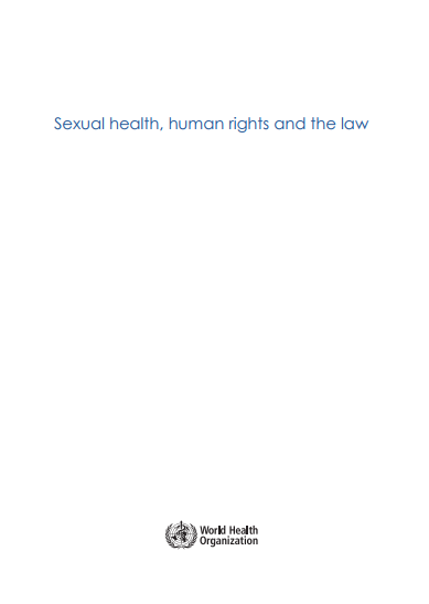 Sexual health, human rights and the law