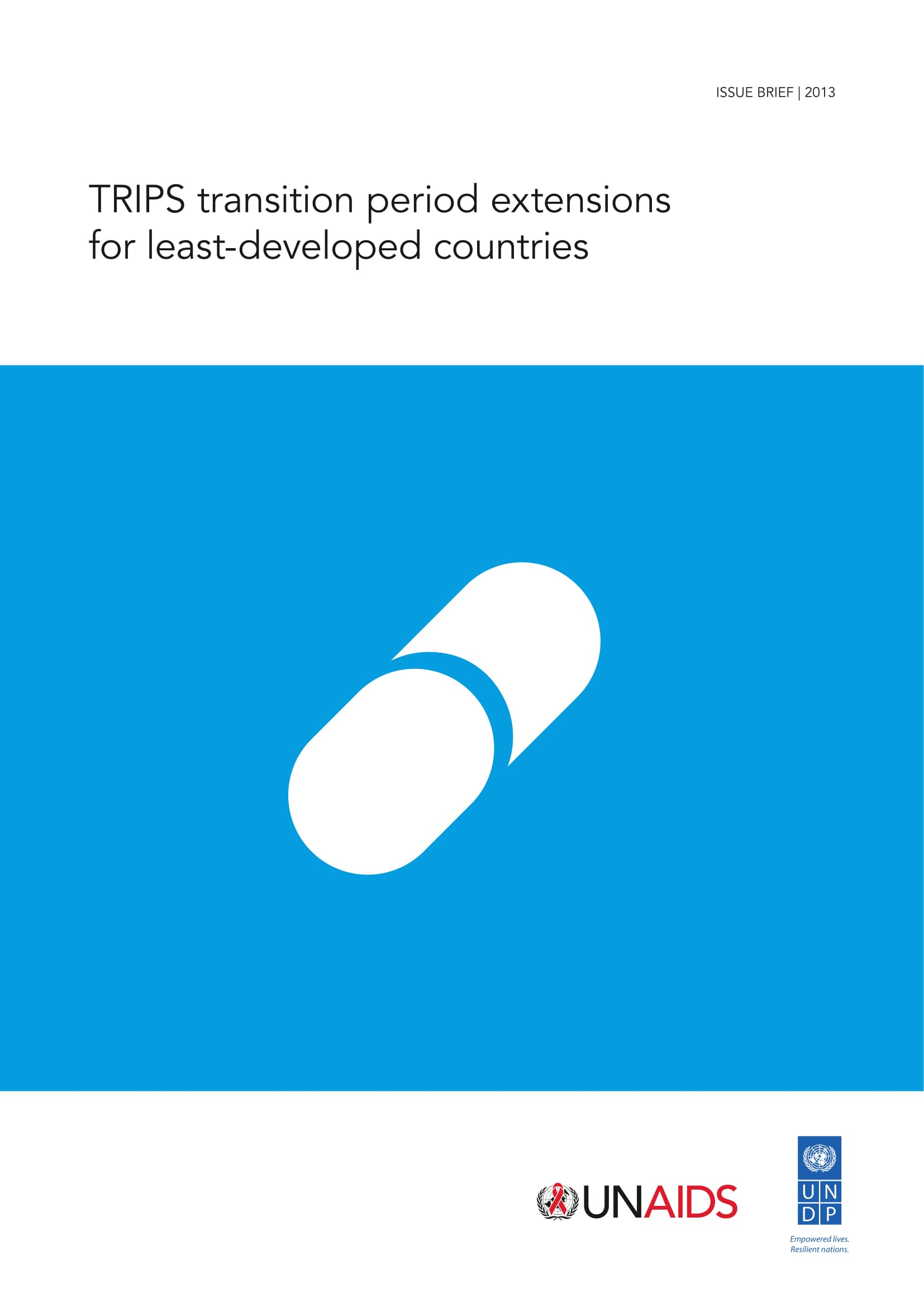 TRIPS transition period extensions for least-developed countries: Issue brief