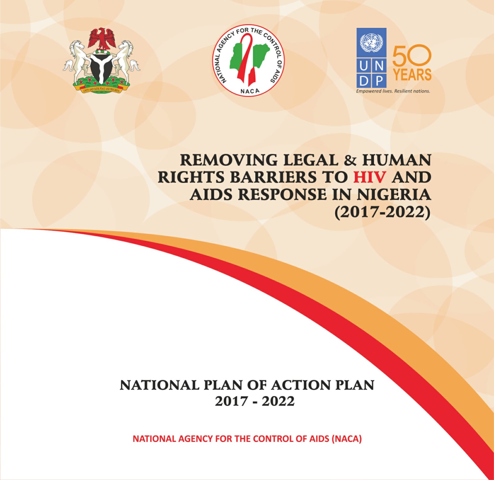 Removing legal and human rights barriers to HIV and AIDS response in Nigeria - National Plan of Action 2017-2022