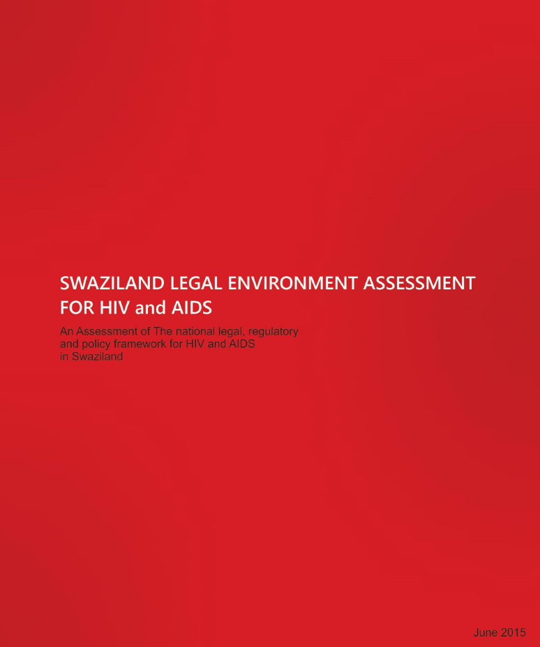 Swaziland Legal Environment Assessment for HIV and AIDS